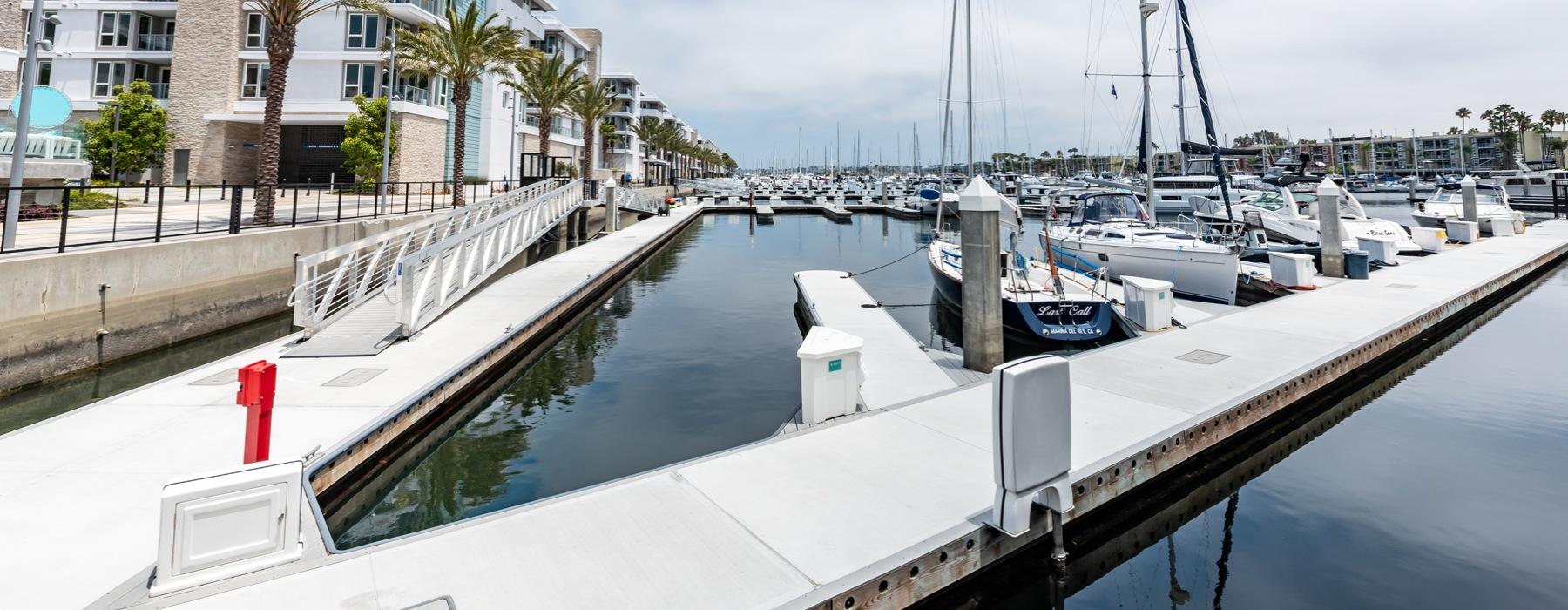 Neptune Marina boat docks